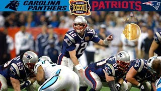 Panthers vs. Patriots Super Bowl 38 | NFL Vault Highlights