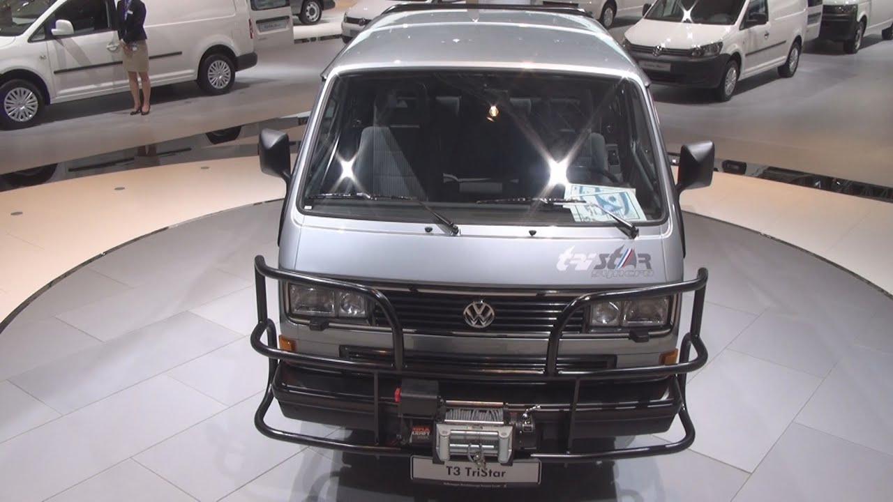 volkswagen transporter t3 tristar 1988 exterior and interior in 3d 4k uhd youtube. Black Bedroom Furniture Sets. Home Design Ideas