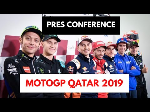 full pres conference motogp qatar 2019