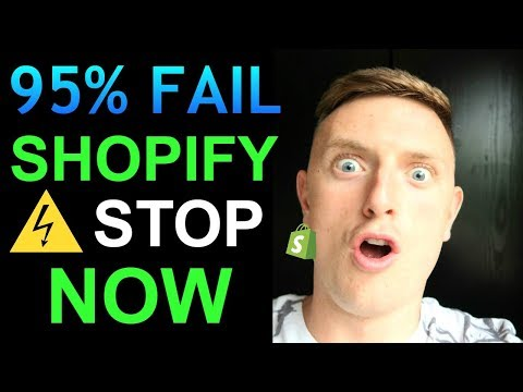 Why 95% Of People Fail with Shopify Dropshipping (STOP DOING THIS) thumbnail