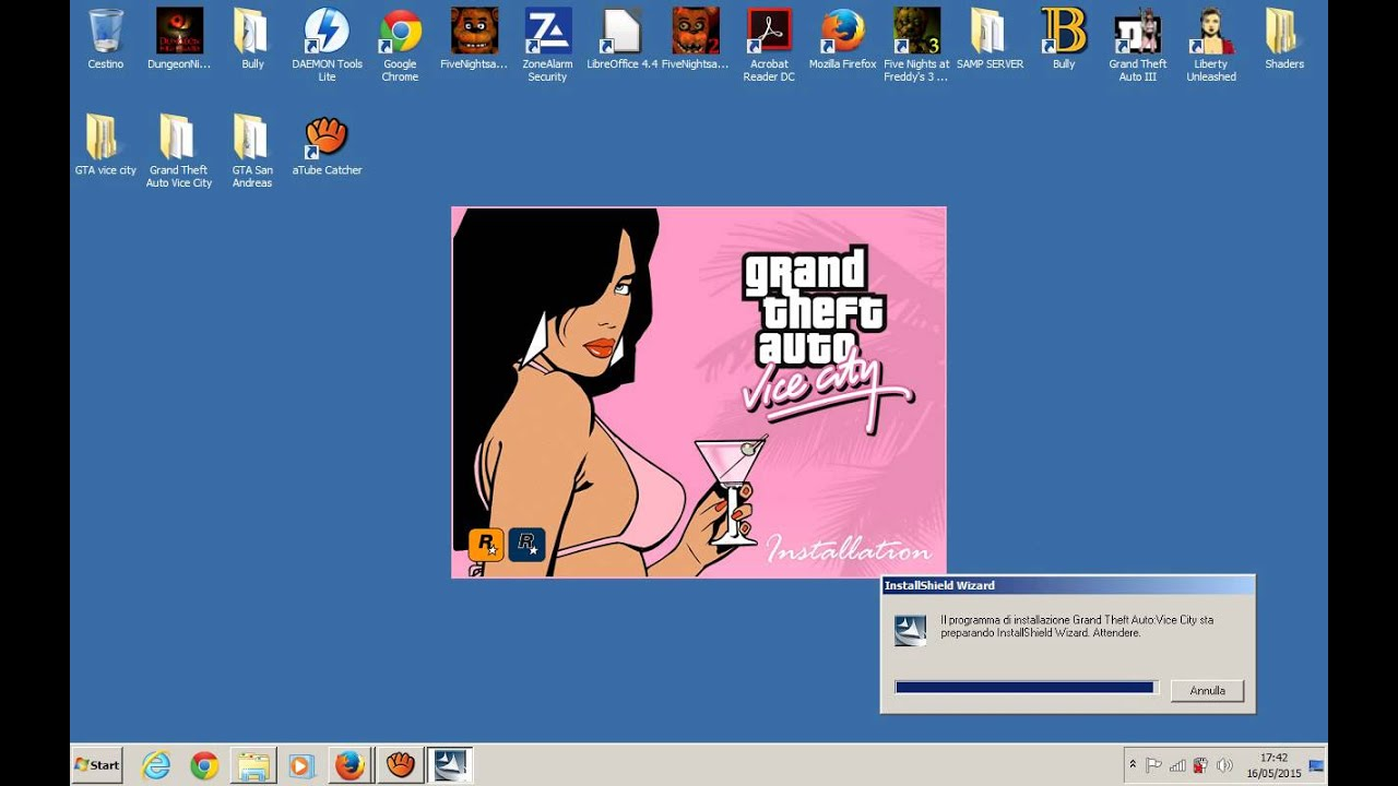 Come Scaricare Gta Vice City Per Pc In Ita Crack Youtube