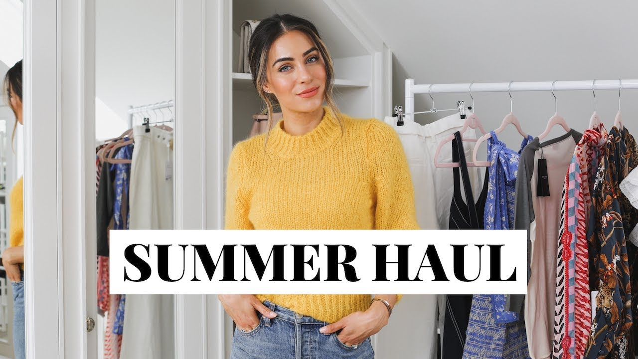 EIGHT FULL SUMMER OUTFITS | Lydia Elise Millen