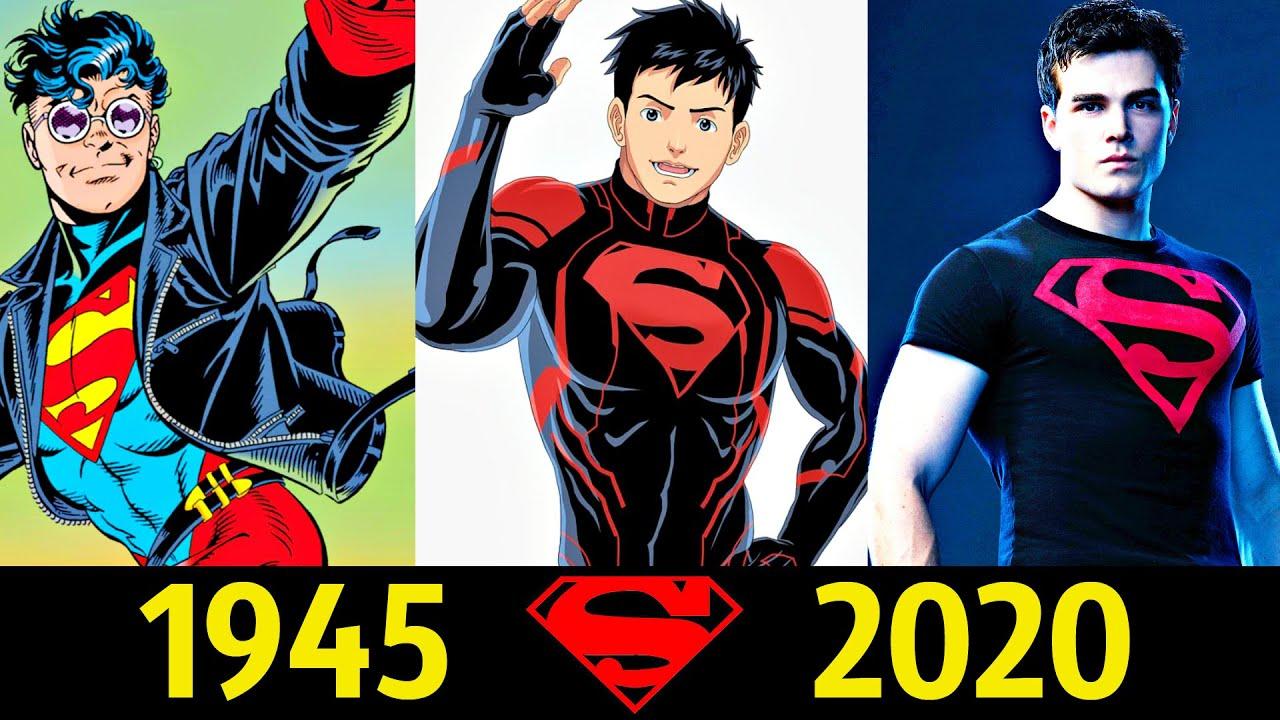 😎 СуперБой - Эволюция (1945 - 2020) ! Все Появления Кон-Эла 💪!