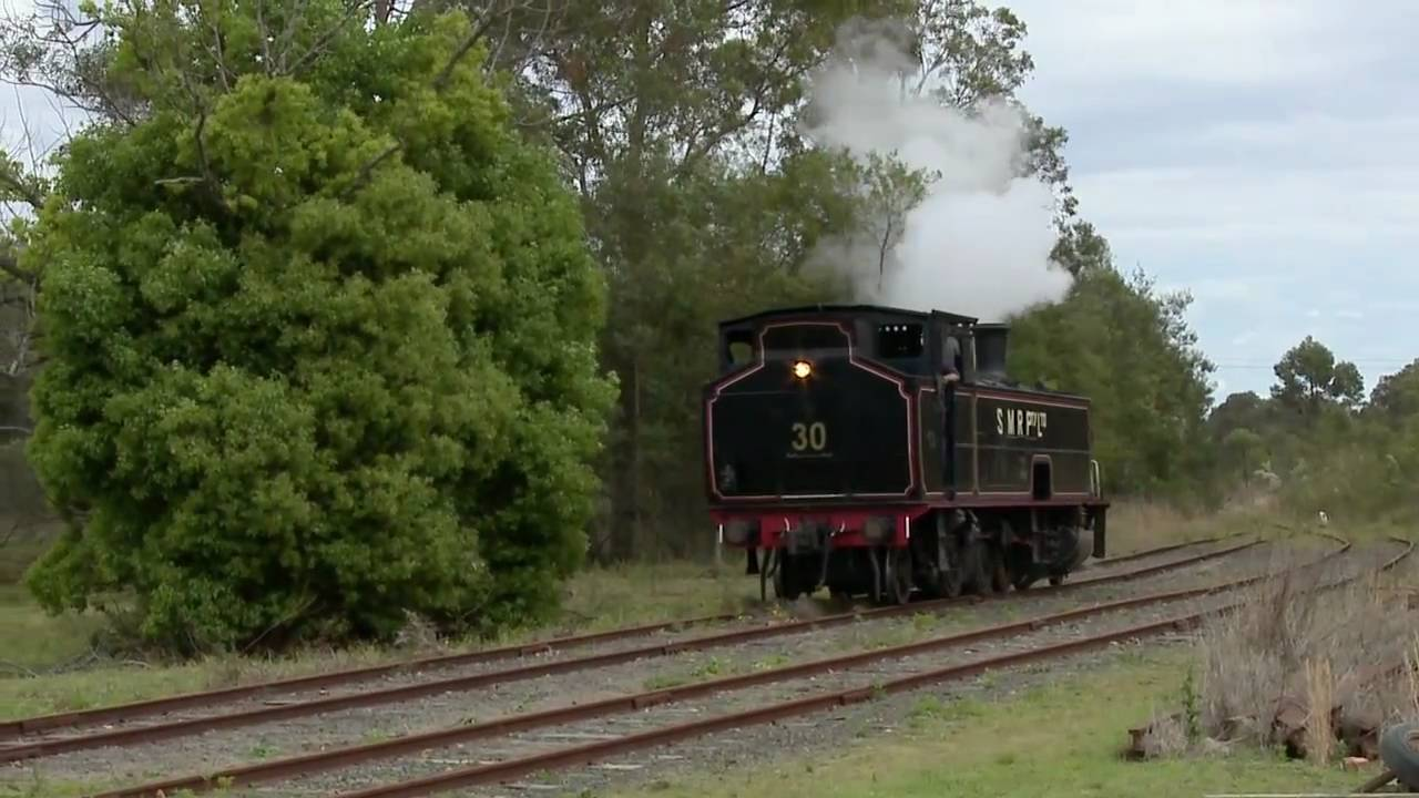 South Maitland Railways SMR 10 Class Steam Locomotive PoathTV Australian Trains YouTube