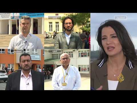 الناخبون الأتراك يواصلون الاقتراع على الرئيس والبرلمان  - نشر قبل 2 ساعة