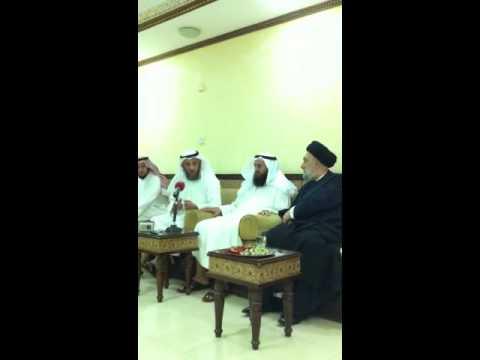 الشيخ عثمان الخميس و السيد علي الأمين