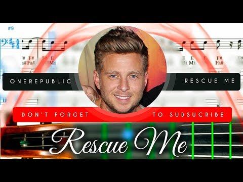 Rescue Me Sheet Music Cello - OneRepublic Rescue Me Tutorial thumbnail
