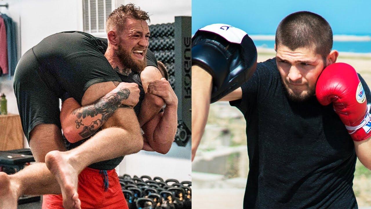 Тренировки Конора Макгрегора и Хабиба Нурмагомедова к бою на UFC 229 / Как готовятся бойцы