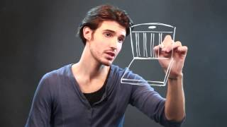 How to Draw a Simple 3D Chair