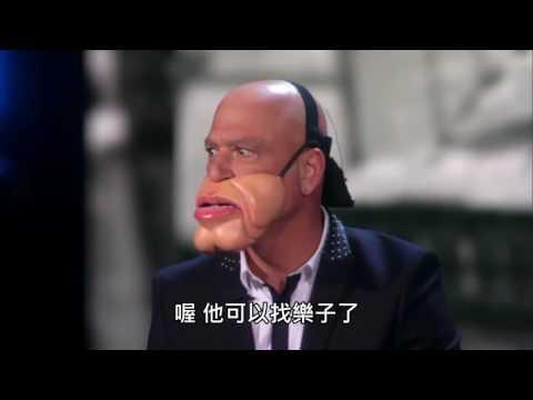 美國�人秀 - 令人�腹大笑的腹語表演  [Paul Zerdin中文字幕]