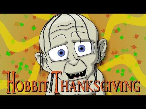 The Hobbit Thanksgiving Parody - 1 Day 2 Animate