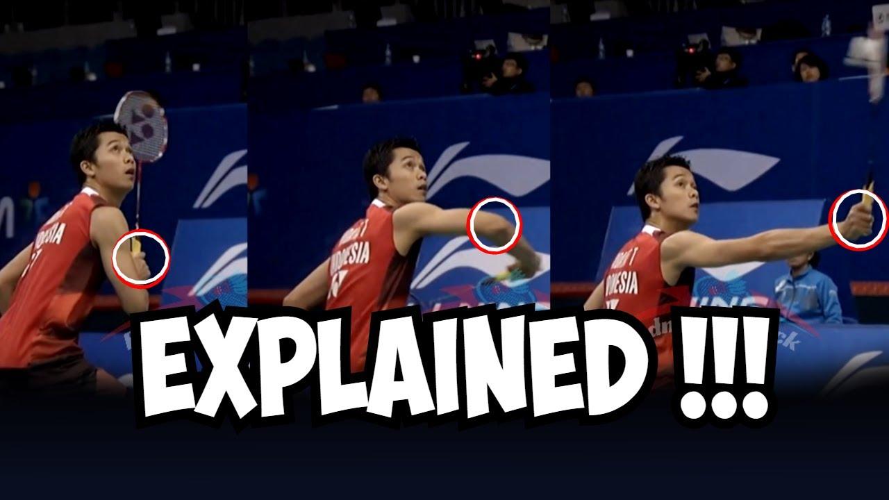 Taufik Hidayat backhand smash   Learn Mr backhand ...