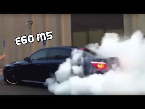 BEST Of BMW M5 E60 - REVS,BURNOUTS And DRIFTS!!