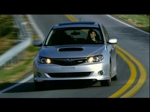 Motorweek Road Test 2009 Subaru Impreza Wrx Youtube
