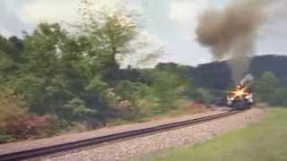 Grand Trunk Western #6325 Heading West to Dennison, Ohio