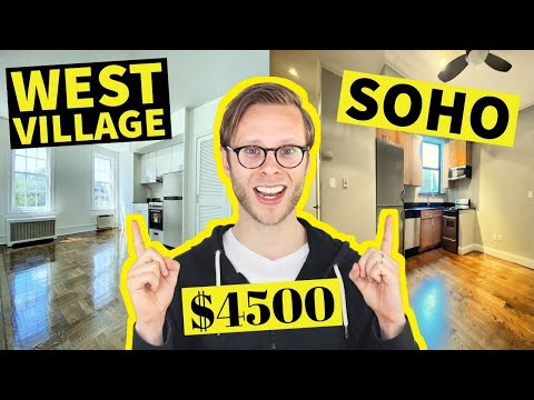 $4500 NYC Apartments: WEST VILLAGE Vs SOHO   Which Is Better?