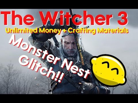 how to make money fast glitch in witcher 3