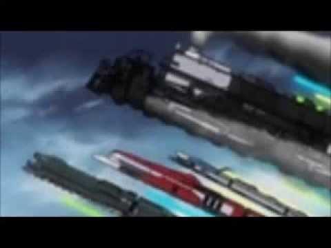 Galaxy railways (Music Video Linkin park- new divide)