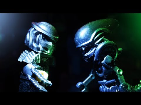 Lego Alien Vs. Predator - Brickfilm