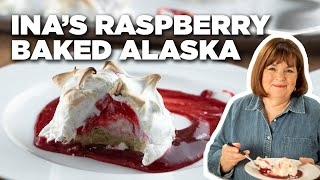Ina Garten Makes Raspberry Baked Alaska | Food Network
