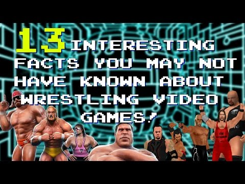 13 Facts You May Not Know About Wrestling Video Games!