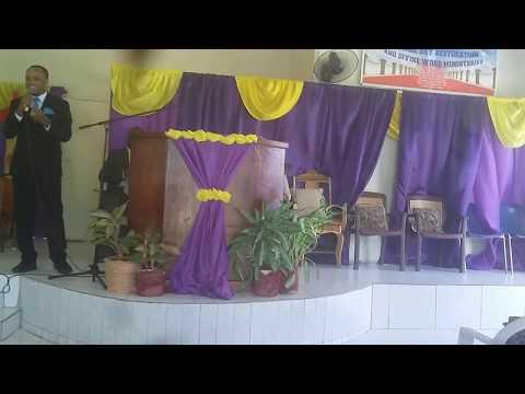 Bishop warren man of God .Roshane Douglas .From gospel JA radio station