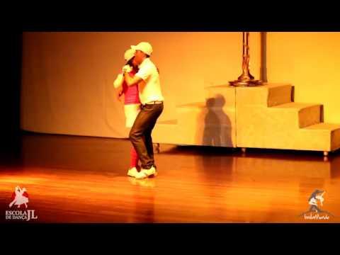 Baila Mundo - Cleciomar Leandro e Maria Silva (Espetáculo JL nas Olimpíadas)