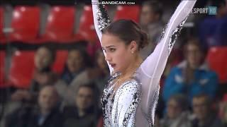 Alina ZAGITOVA SP Internationaux de France 2017