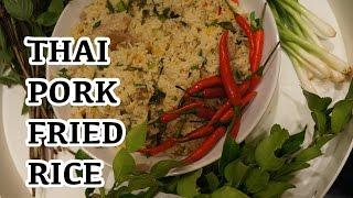 Thai pork Fried Rice Recipe