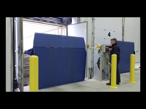 Vertical Dock Levelers Save Energy - VL Series by Blue Giant