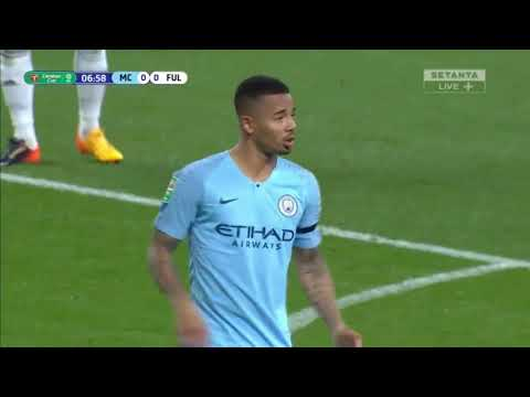Manchester City Vs Fulham Full Match First Half 01/11/2018