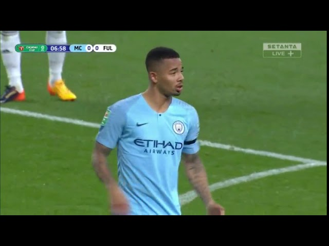 Manchester City Vs Fulham Full Match First Half 01 11 2018 Youtube