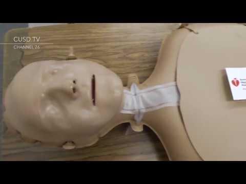 Dominguez High School CPR In The Classroom