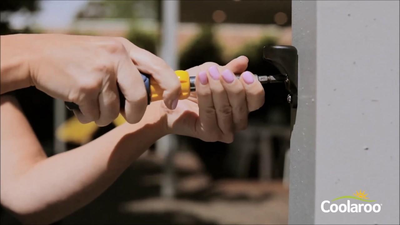 Coolaroo Easy Release Exterior Blind