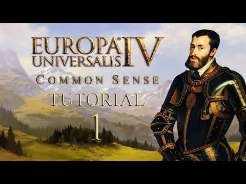 EU4 Common Sense Tutorial -1- Game Concepts