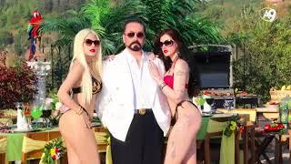 Adnan Oktar'ın muhteşem kızlarla muhteşem havuzbaşı partisi!