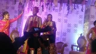 Teri rab ne bana di jodi/wedding dance performance by bride and groom