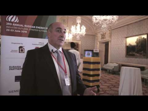 Paul Corcoran, Nord Stream 2 AG, Russian Energy Forum 2016, London