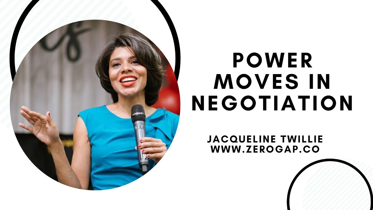 POWER MOVES IN NEGOTIATIONS