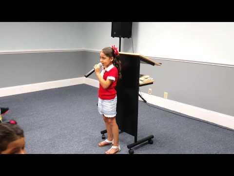 Kids Inspired By God - Nena Singing God's not dead