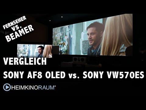 Vergleich: SONY 4K OLED vs. SONY 4K Beamer