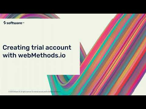 webMethods.io Trial Creation | Software AG