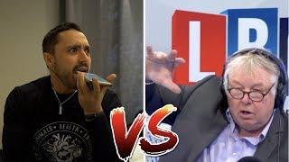 Firey Radio Debate: Vegan Activist VS Nick Ferrari