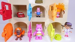 Learning Colors for Children - Paw Patrol Doc McStuffins Critter Clinic CARS Peppa Pig