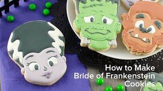 How to Make Bride of Frankenstein Cookies