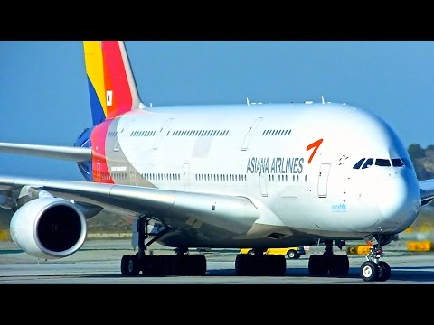 Los Angeles (LAX) Spotting - Asiana/Southwest - Airbus A380-800 & More - Spotting Series Episode 16