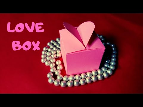 How To Make a Paper Love Box | Gift Box by Paper | InnoVatioNizer