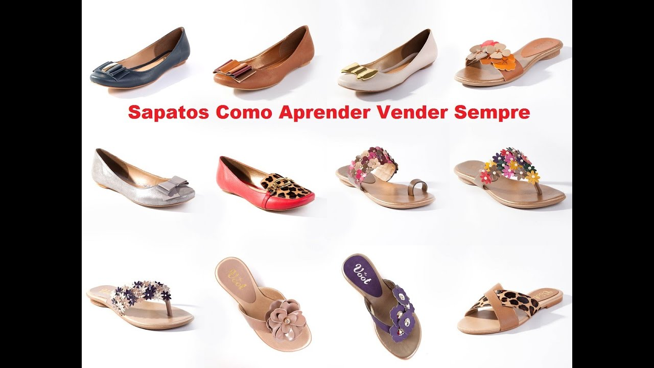 e9be6164c Sapatos Como Aprender Vender Sempre - YouTube