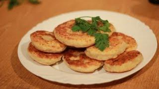 Рецепт лепёшек с ветчиной и сыром.