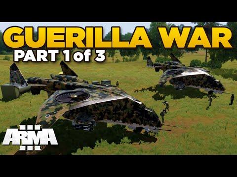 GUERILLA WAR (1/3) | ARMA 3 Apex - TANOA